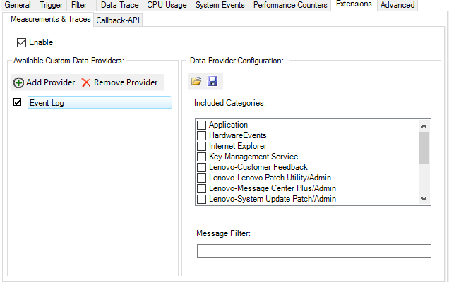 Custom Data Provider