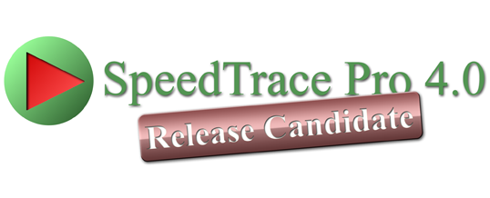 SpeedTrace Pro 4.0 Release Candidate available